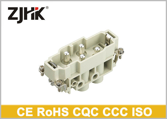 industrial connector Heavy Duty Wire Connector HK 004  2   conbination insert 690V   250V  70 and 16A